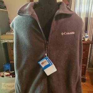 Zip up fleece vest